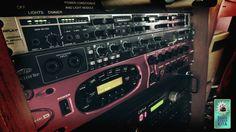 POD XT Pro Safire 40  Behringer Powerplay Pro-XL HA4700 Dim Lighting, Digital Audio, Recording Studio, Tv On The Radio, Lights, Lighting, Light Fixtures, Rec Rooms, Lamps