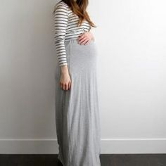 Maternity Maxi Dress - free sewing patterns - Maternity Clothes