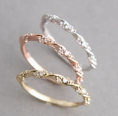 Simple and Perfect Wedding Ring
