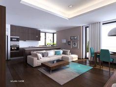 dark floors modern furniture - Buscar con Google