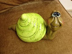 herman the garden snail by claygirl55 on Etsy
