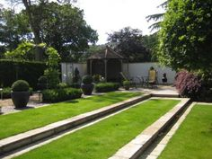 Formal Lawn Steps
