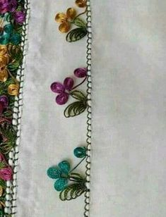 This Pin was discovered by Ser Tesettür Eşarp Modelleri 2020 Embroidery Tools, Beaded Embroidery, Hand Embroidery, Embroidery Designs, Needle Tatting, Tatting Lace, Needle Lace, Filet Crochet, Irish Crochet