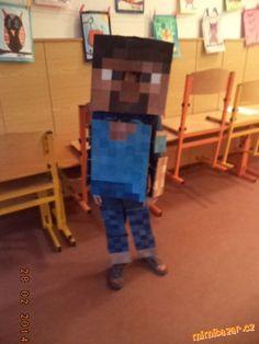 Zoufalé matky dělají zoufalé činy...aneb když chce dítko jít na karneval za Minecraftovýho panáčka....