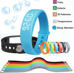 Find More Smart Wristbands Information about Smart Fitness Watch W5 Smart Wristband No Need Connect with Phone Pedometer Sleep Tracker Thermometer / Time Display Bracelet,High Quality watch pulse,China watch alice Suppliers, Cheap watch tank from SMTHOME CO., LIMITED on Aliexpress.com