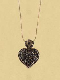 Michal Negrin Timeless Spark Collection Beautiful Heart Pendant Enriched with Swarovski Crystals ,The pendant measures 2 inches long and 1.1 inch wide at its widest. The chain length is adjustable.