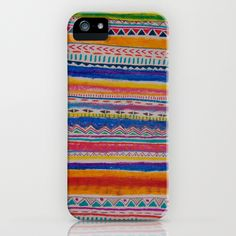 TRIBAL CRAYON / iPhone Case by Vasare Nar   Society6