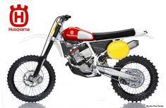 Wish Husqvarna made this one Motorcross Bike, Enduro Motorcycle, Motorcycle Engine, Motorcycle Design, Trail Motorcycle, New Dirt Bikes, Mx Bikes, Cool Bikes, Honda Bikes