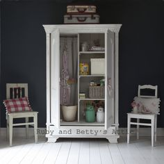 Armoires have a lot of uses! From www.rubyandbettysattic.com
