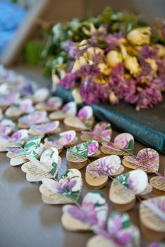 Paper Hearts Garlands, PURPLE PEONY Hearts, Paper Garland, Heart Garland,  Wedding Garland