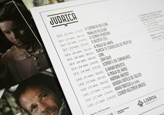 Judaica, Lisbons first Jewish Film Festival by Nuno Magro, via Behance