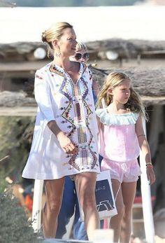 Kate Moss  Lila Grace in Saint Tropez. What to wear on honeymoon. Wedding blog www.theweddingwhisperer.co.za