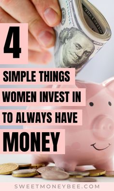 You will love these make money and money management tips for women who want to build wealth and be rich. Check out the investments all successful women make to always have money in their savings account. Definitely read how you could be investing your money to generate passive income for beginners. Save these saving money and financial planning tips.