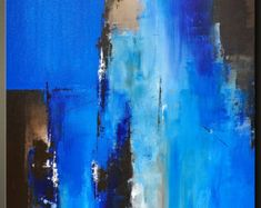 "Passage 2 - 30"" x 24"" - Abstract Acrylic Painting on Canvas - Original Fine Art - Contemporary Style"