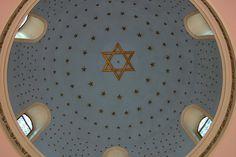 Cupola, Yuksekkaldirim Ashkenazi synagogue, Istanbul