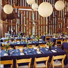 Barn Reception Tables  http://theknot.ninemsn.com.au/wedding-planning/wedding-planning-wedding-planning/25-inspiring-reception-tables/attachment/25-inspiring-reception-tables-barn-reception-tables?gallery_id=89716#