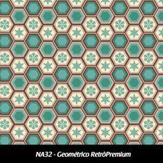 Cód. NA32 - Geométrico Retrô Premium
