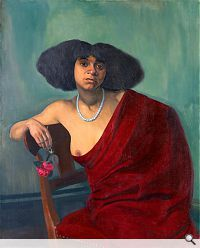 La Mulâtresse, 1913. Öl auf Leinwand, 101 x 81 cm. Ehemalige Sammlung Richard Bühler, Winterthur; Privatsammlung Winterthur.
