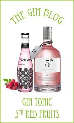 ...The Gin Blog. Y preparan con Original Pink el gin tonic perfecto con 5th Fire (Red Fruits)
