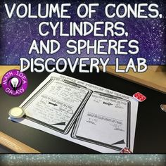 Volume of Cylinders Cones and Spheres