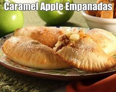 Caramel Apple Empanadas @Jami Beintema Beintema Beintema Fimple you should totally try these!! only if im around though just to make sure they taste good