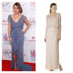 @Weddington Way picks out engagement party dresses for all of the newly engaged celebs on @Glamour