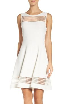 f11c069b63d Free shipping and returns on French Connection Tobey Crepe Fit  amp  Flare Dress  at Nordstrom