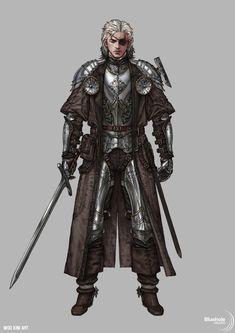 Character Concept, Project W, Woo Kim on ArtStation at https://www.artstation.com/artwork/oGmdL