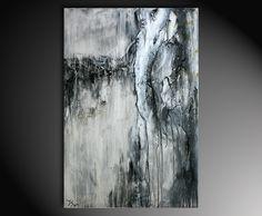 """hautnah"" - abstraktes Kunstwerk in Acryl - modernes Ausstellungsgemälde - Abstrakte Kunst Galerie Inspire ART"