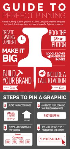 Guide to Perfect Pinning on Pinterest http://blog.canva.com/master-art-pinterest-images/