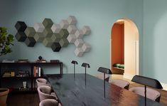 Casse per ascoltare la musica ma anche decorare una parete vuota