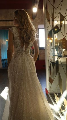 Perfect Wedding Dress, Open Back Wedding Dress, Dream Wedding Dresses, Bridal Dresses, Wedding Dress With Pearls, Champagne Wedding Dresses, Blake Lively Wedding Dress, Sleeved Wedding Dresses, Wedding Dresses With Bling