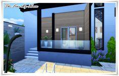 Sims 1, Lotes The Sims 4, Sims 4 House Design, Duplex House Design, Art Deco Interior Living Room, Sims 4 House Plans, Sims Free Play, Casas The Sims 4, Casas Containers
