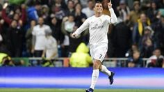 Cristiano Ronaldo: mira los tres goles que marcó a Wolfsburgo en Bernabéu. April 12, 2016.
