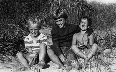 The Wilson Brothers as boys