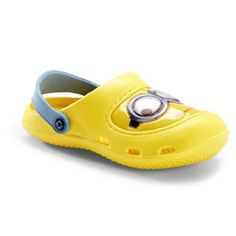 99486b8b3337 Despicable Me 2 Boy s Sandal Yellow Clog