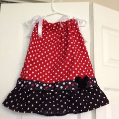 Mickey Mouse Pillowcase Dress
