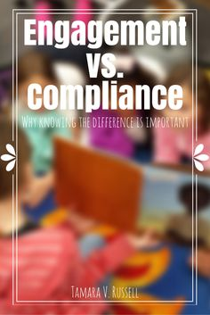 Compliance Learning the distinction and working towards growth will help you as you teach students. Behavior Management, Classroom Management, Class Management, Student Centered Classroom, Tutorial Class, Professional Development For Teachers, Classroom Organization, Classroom Ideas, School Organisation