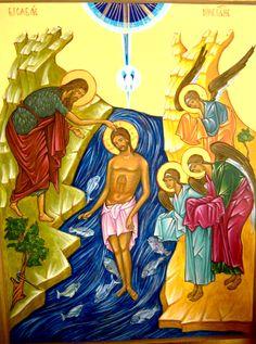 Holy Baptism by Cristina Lucia Leonetti of Argentina