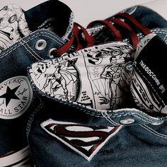 3648cfaa Converse x DC Comics - Superman Chuck Taylor All Star - Visit to grab an  amazing super hero shirt now on sale!