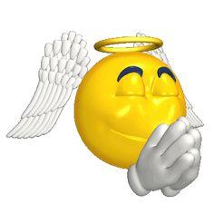 Emoji Please Sticker for iOS & Android Smiley Emoji, Smiley Faces, Animated Emoticons, Funny Emoticons, Animated Gif, Emoji Images, Emoji Pictures, Angel Emoticon, Funny Emoji Faces