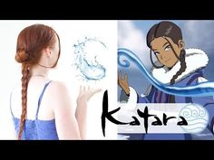 Silvousplaits Hairstyling | An Avatar Hair Tutorial - Katara - Silvousplaits Hairstyling