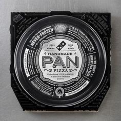 Dominoes pizza box. No really, Dominoes.