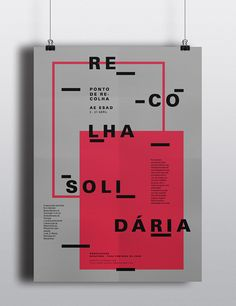 Recolha Solidária on Behance