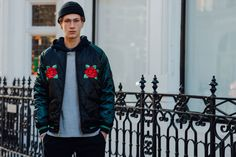 The best street Style Pics from the Fall 2016 Men's Show. 10-lfw-day-3