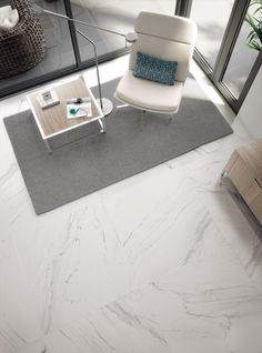 Modern marble floor tiles porcelain. Perfect design for study, office of sitting room.