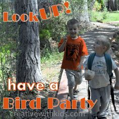 Celebrate Spring with a Bird Party Camping,Hiking,Gardening & More in the Backyard,creative camping