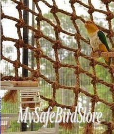 Aronico Canopy Medium Cargo Net - My Safe Bird Store