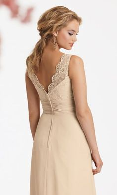 Alternate view of the Jordan 531 Bridesmaid Dress with Lace image My  Perfect Wedding cac0fae2df62