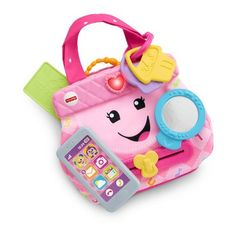 Superb Fisher-Price Laugh & Learn My Smart Purse Activity Toy Now at Smyths Toys UK. Shop for Educational Toys At Great Prices. Baby Girl Toys, Toys For Girls, Kids Toys, 80s Kids, Toys Uk, Fisher Price Toys, Vintage Fisher Price, Baby Musical Toys, Toys For 1 Year Old
